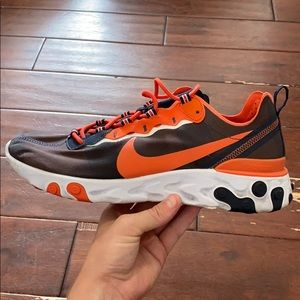 Nike React Element 55 Chicago Bears Shoes Size 12
